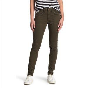 NWT William Rast Olive Jane Skinny Cargo Pants